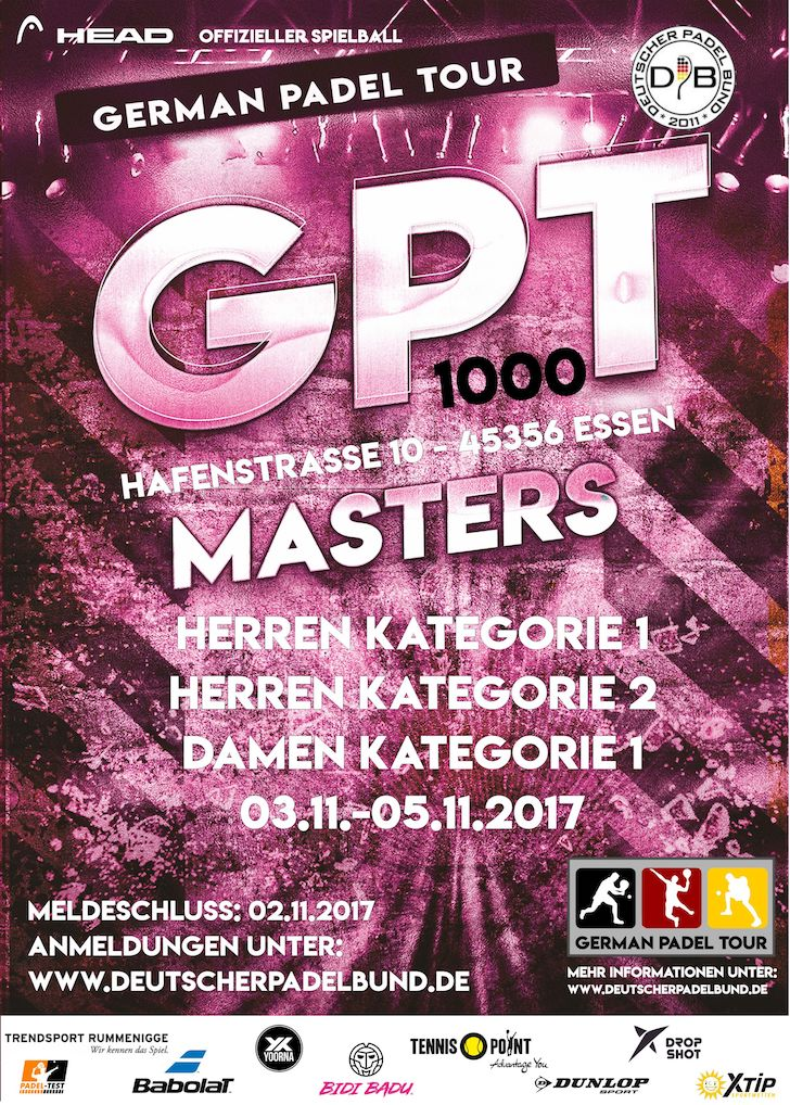 German Padel Tour Masters
